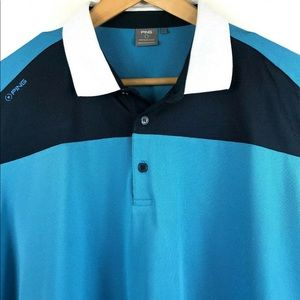 Ping Sensor Cool SS Golf Polo Shirt